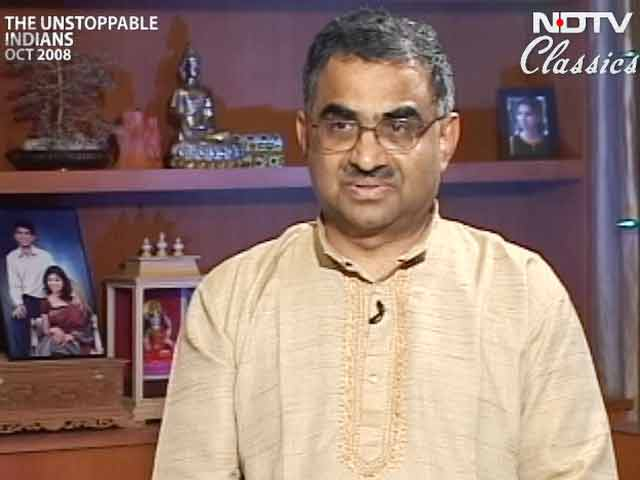 Video : Shrinivas R Kulkarni: The unstoppable Indian (Aired: October 2008)