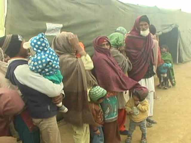 Video : Muzaffarnagar relief camps: threat of diarrhoea outbreak