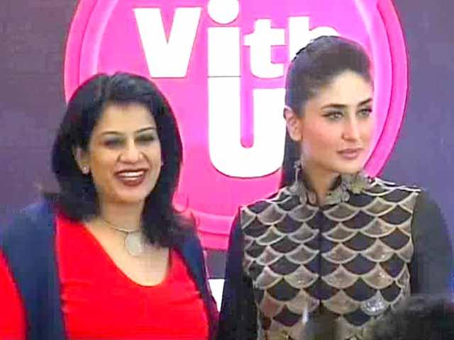 Video : Kareena promotes cause of women's safety