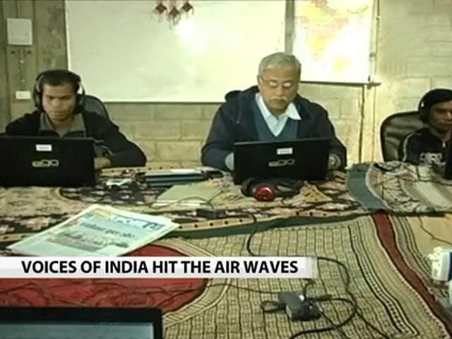 Video : Voices of India hit the airwaves
