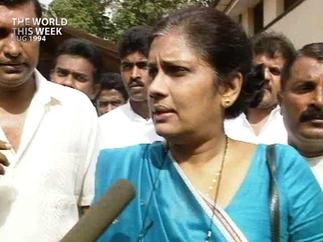 Video : The World This Week: Chandrika Kumaratunga wins Sri Lanka elections (Aired: August 1994)