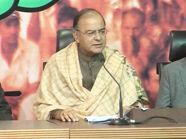 Video : Narendra Modi faced an adversity and has emerged stronger, says Arun Jaitley