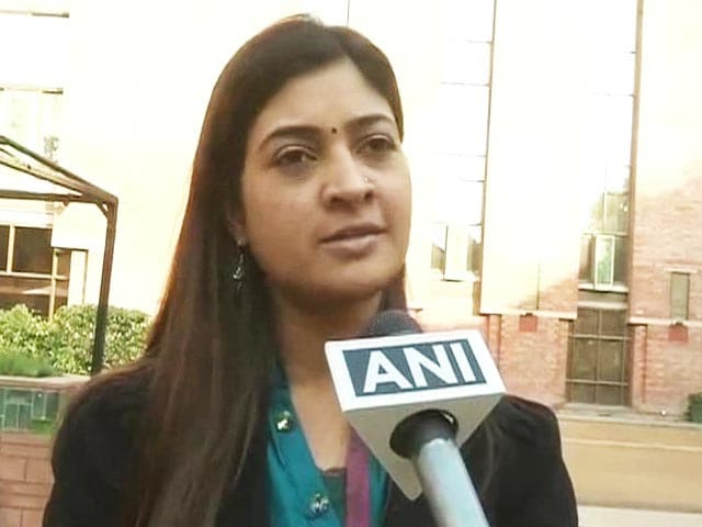 Video : Alka Lamba, former student leader, quits Congress to join AAP
