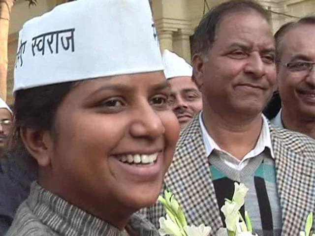 Video : Am a revolutionary, says Rakhi Birla, set to be Delhi's youngest minister