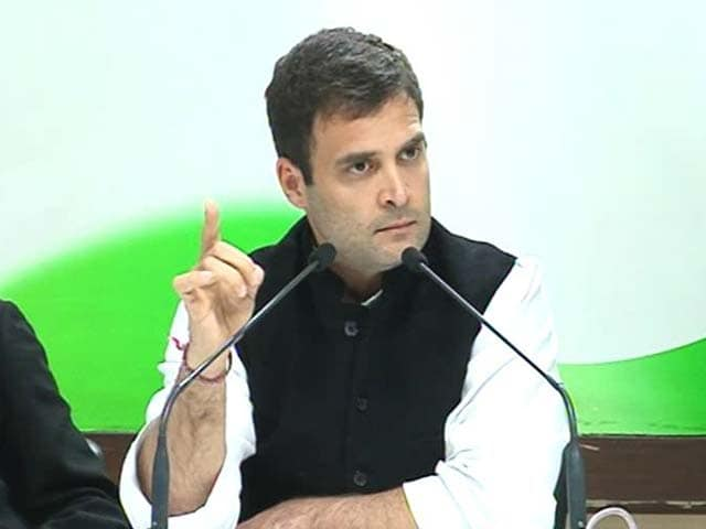 Video : Rahul Gandhi says he disagrees with rejection of Adarsh report