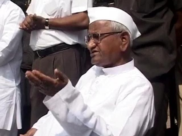 Video : Arvind Kejriwal can teach others a lesson: Anna Hazare