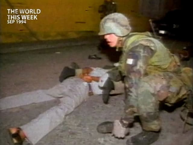 Video : The World This Week: US lifts sanctions against Haiti (Aired: September 1994)