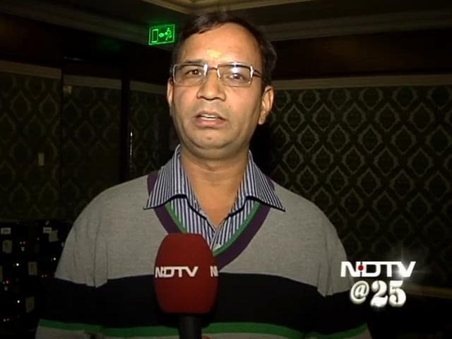 Video : No organisation like NDTV: Mahesh Chandra Pant