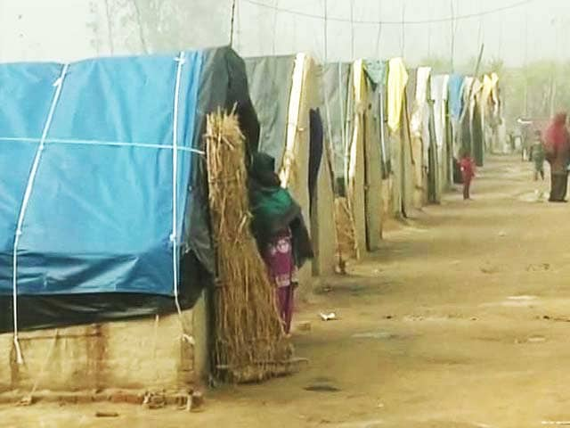 Video : Muzaffarnagar's refugee camps being used to grab forest land?