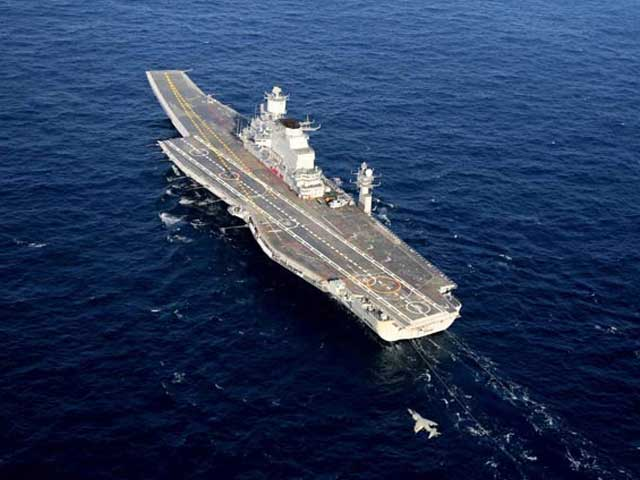Video : INS Vikramaditya, India's biggest warship, finally arrives