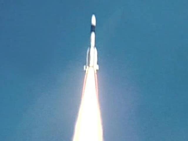 Video : ISRO's large rocket GSLV lifts off successfully from Sriharikota