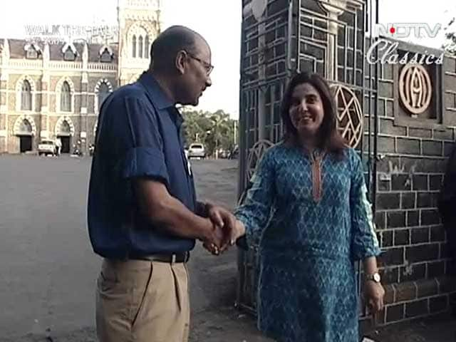 Video : Walk The Talk with Farah Khan (Aired: September 2005)