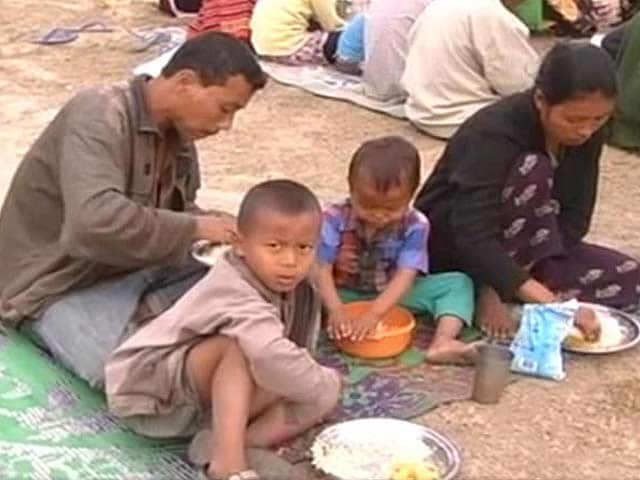 Video : In Assam's Karbi Anglong, fear drives people to relief camps