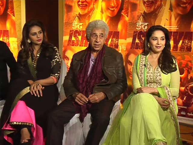Video : Madhuri, Naseer on misadventures of love
