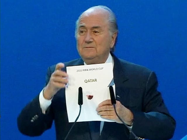 Video : Qatar to host first-ever winter FIFA World Cup in 2022
