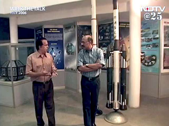 Video : Walk The Talk with Dr G Madhavan Nair (Aired: July 2006)