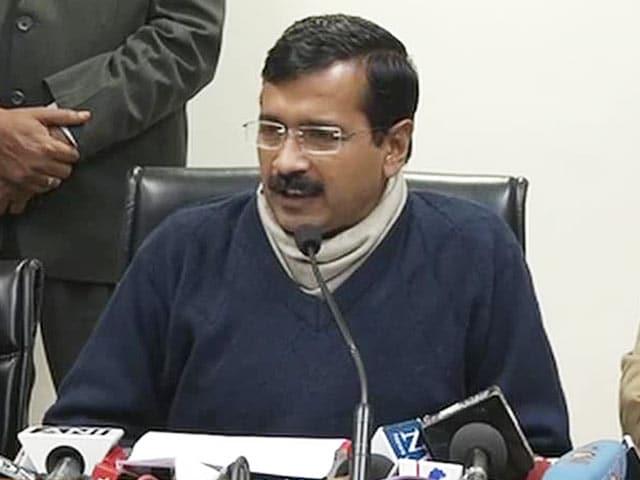 Video : Kejriwal announces new mechanism to solve public grievances