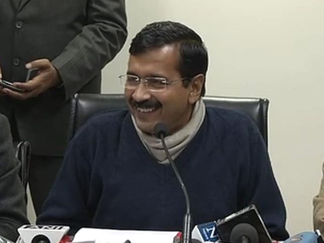 Video : Kejriwal to now meet Delhi's citizens at <i>janata darbar</i>