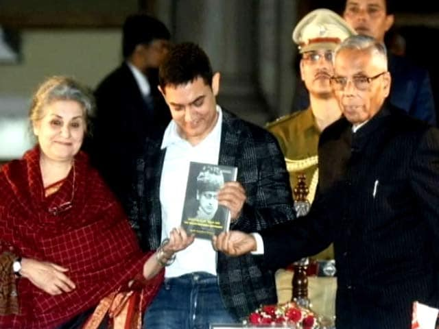 Video : Aamir Khan keen on making a movie on Maulana Azad