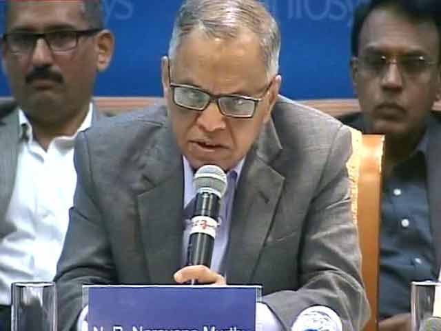 Video : Sad to see some excellent people leaving Infosys: Murthy