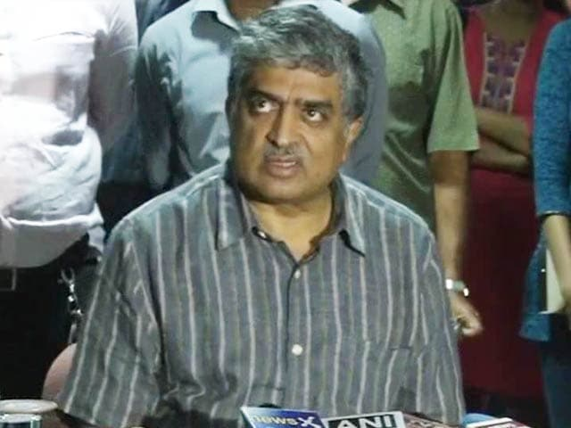 Video : Nandan Nilekani ready to contest polls, says Congress has been very supportive