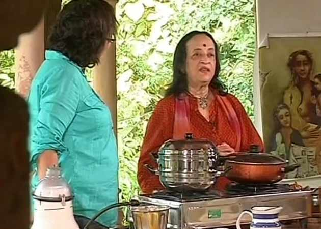 Video : Anjolie Ela Menon - The 'Art' of cooking
