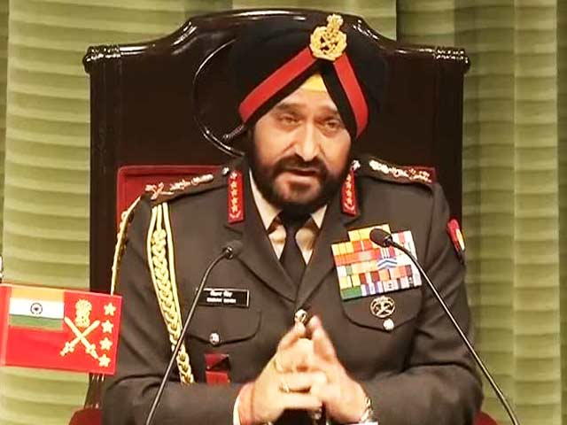 Video : If our neighbours break the rules, we will too, says Army Chief General Bikram Singh