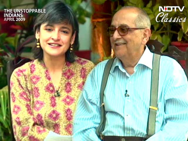 Video : The Unstoppable Indians: Fali Sam Nariman, noted jurist (Aired: April 2009)