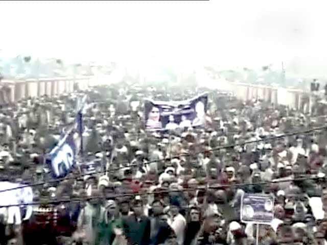 Videos : मायावती के जन्मदिन पर बीएसपी की बड़ी रैली