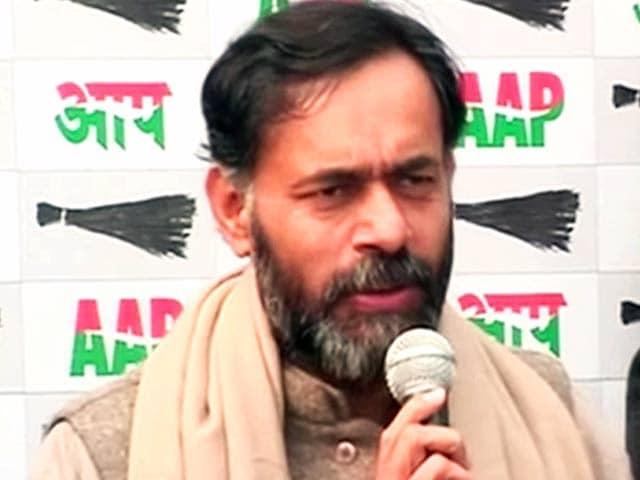Video : AAP vs AAP: Vinod Binny's charges scripted by BJP, says Yogendra Yadav