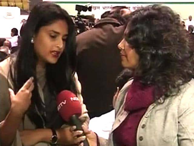 Video : Ramya, the youngest MP, on attending her first AICC session