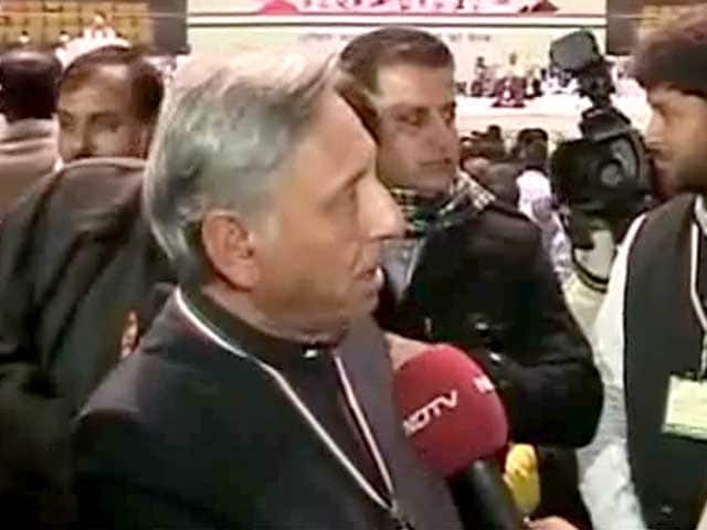 Video : Won't apologise for inviting Modi to sell tea: Mani Shankar Aiyar