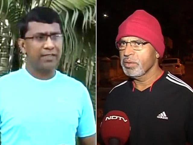 Video : People fight illness to run the Mumbai marathon