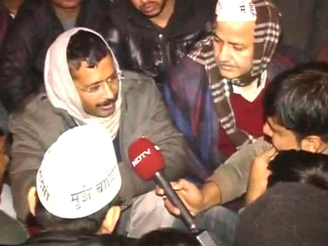 Video : 'Home Minister won't decide where Chief Minister will sit,' says Arvind Kejriwal