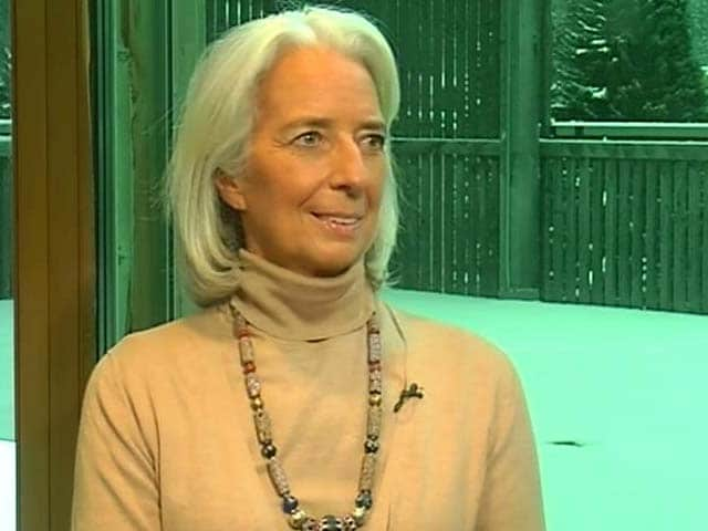 Video: IMF chief dedicates 2013 to IMF representative killed in Afghanistan