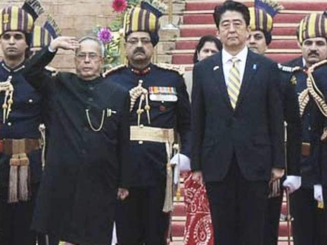 Video : Republic Day parade: President Pranab Mukherjee takes salute