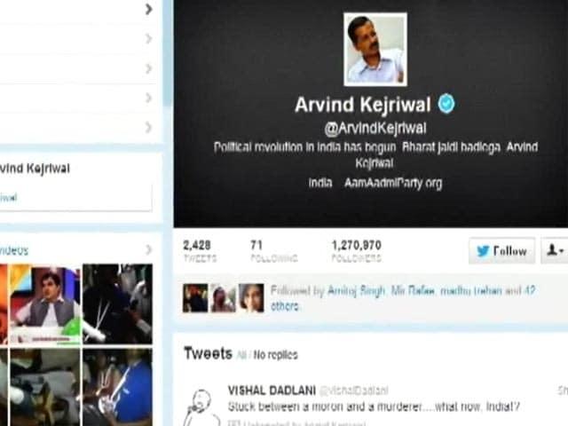 Videos : अरविंद केजरीवाल के री-ट्वीट से उठा विवाद