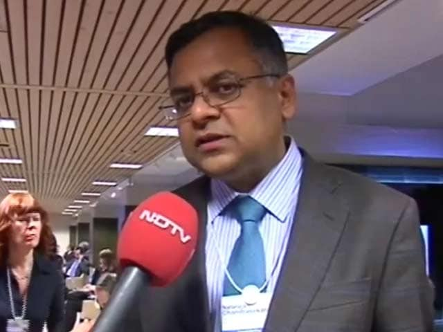 Video: Mood in Davos little better this year: Chandrasekaran