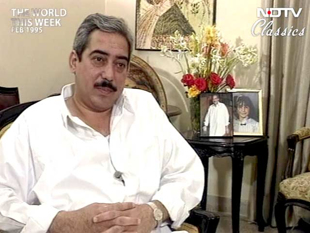 Video : The World This Week: Exclusive interview with Murtaza Ali Bhutto (Aired: February 1995)