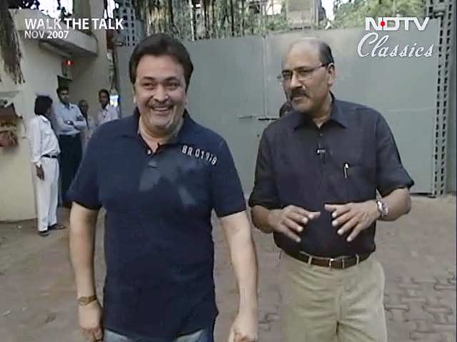 Video : Walk The Talk with Rishi Kapoor (Aired: November 2007)