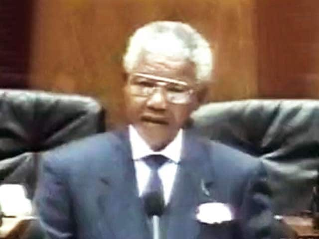 Video : The World This Week: Nelson Mandela under attack in South Africa (Aired: Feb 1995)