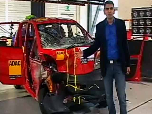 Video : India's first crash tests