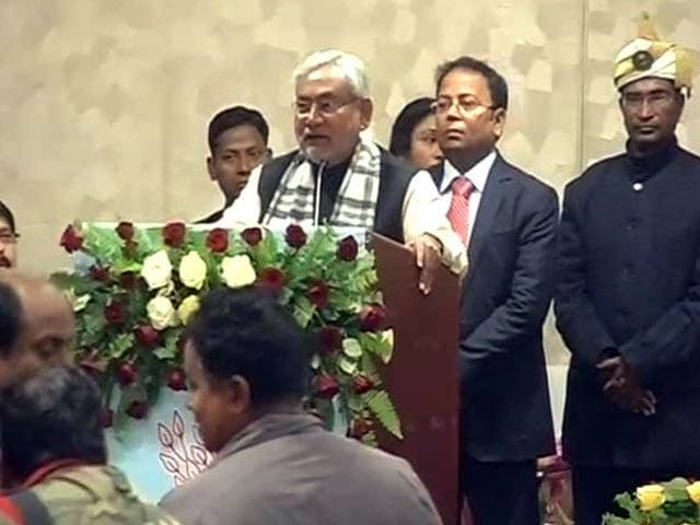Video : Nitish Kumar launches food security scheme in Bihar