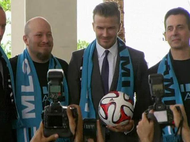 Video : Beckham to buy MLS franchise, chooses Miami as base