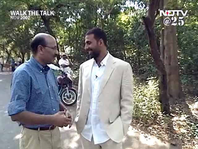 Video : Walk The Talk with Akshay Kumar (Aired: November 2007)