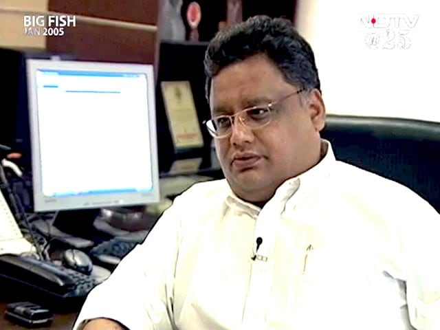 Video : Have confidence in India and its markets: Rakesh Jhunjhunwala (Aired: January 2005)