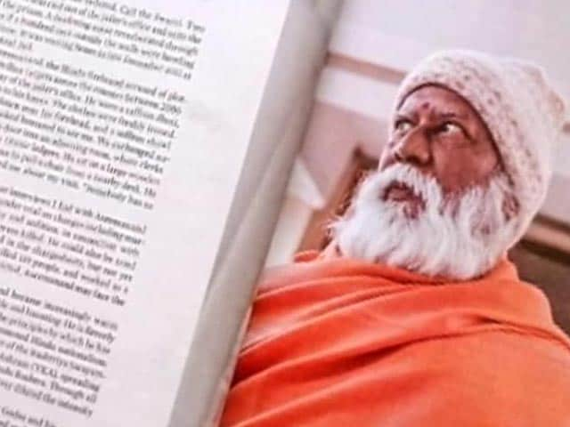 Video : Jailed swami writes letter denying comments on RSS and Narendra Modi