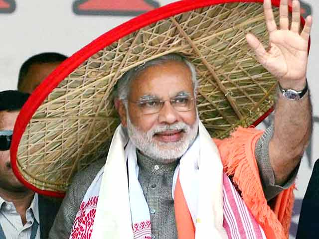 MODI CANCELS ASSAM VISIT FOR SECOND TIME IN A MONTH