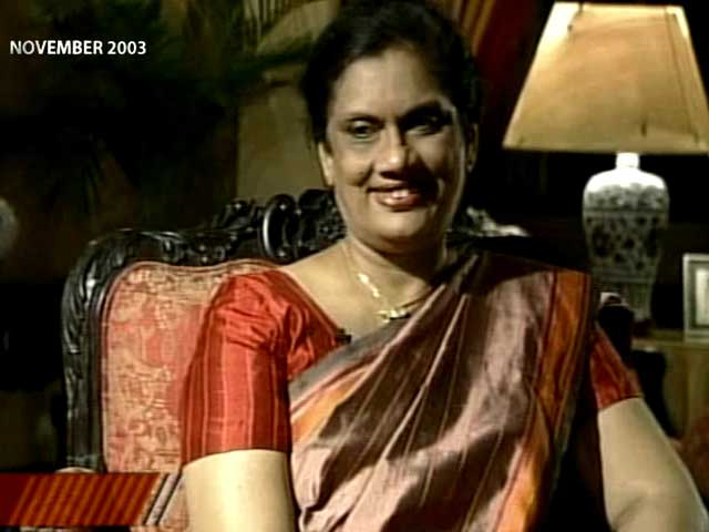 Video : Talking Heads with Chandrika Kumaratunga (Aired November 2003)