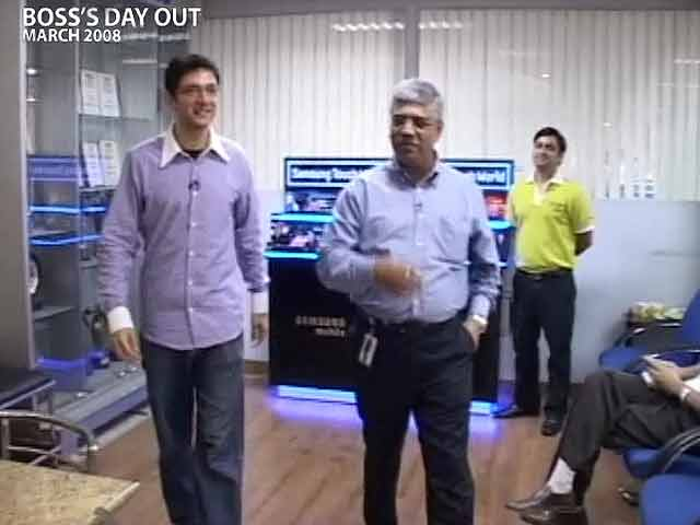 Video : Boss' Day Out: Sunil Dutt of Samsung Electronics (Aired: March 2008)